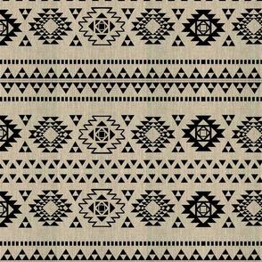 Fake linen and kilim 1