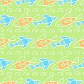 coastal fish stripe