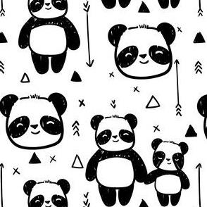 Happy Panda Geometric