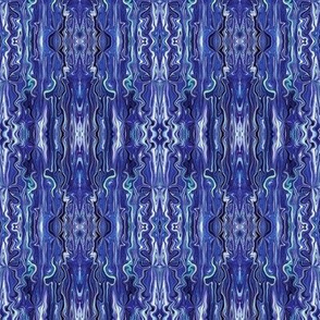 BFM24 - Violet Blue Butterfly Marble Brocade