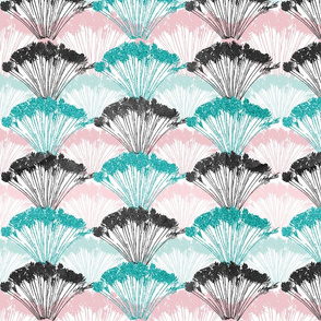 Peacock Feathers Pastell
