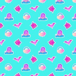 Candy Gravestones 01