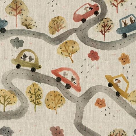 autos 1 fabric by gomboc on Spoonflower - custom fabric