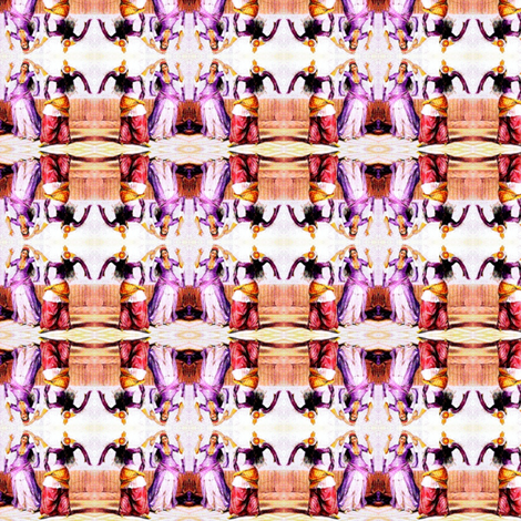 ghawazee dancers 2-ed-ed fabric by uberdesigns on Spoonflower - custom fabric