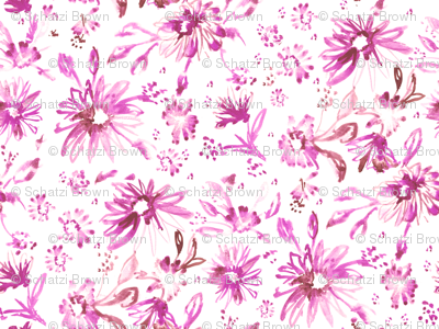 Lovely floral pink