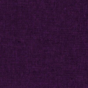 solid woven - darkest purple