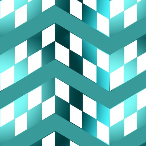 Rblue-green-gradient-checkerboard-chevrons_shop_preview