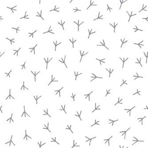 Nursery pattern.  Chicken feet.  Duck footprint. Chicken footprints. Nursery design. Gender neutral. Pastel shades.  Bird tracks. Kids pyjamas.