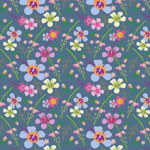 Tiara Wildflower-Blue