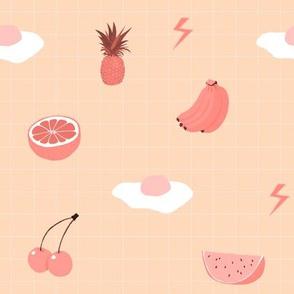 Monochrome Fruit (orange)