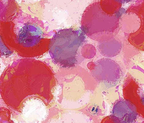 Modern Retro: Fuzzy Wuzzy Bouncy Balls fabric by tallulahdahling on Spoonflower - custom fabric