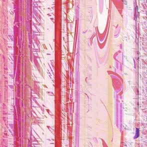 Modern Retro: Fuzzy Wuzzy Stripes Vertical