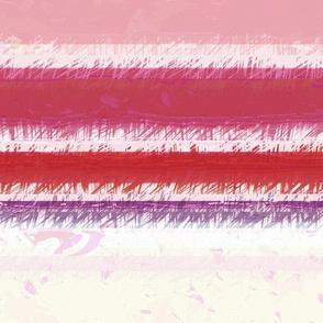 Modern Retro: Fuzzy Wuzzy Stripes Horizontal