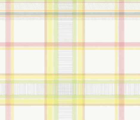 Humming Bird Plaid fabric by dandd_designs on Spoonflower - custom fabric