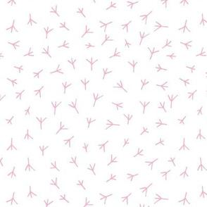 Swaddling girlish pattern. Bird tracks. Kids Pyjamas. Duck footprint. Chicken footprints. Baby Clothes. Chicken feet. Lovely swaddling for girl. Charming Swaddle.
