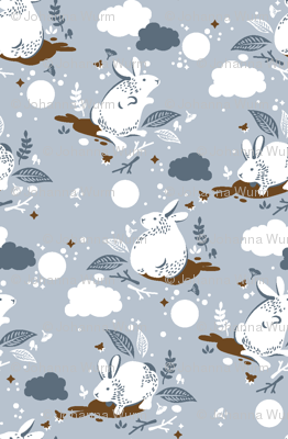 pixelguiden bunny pattern