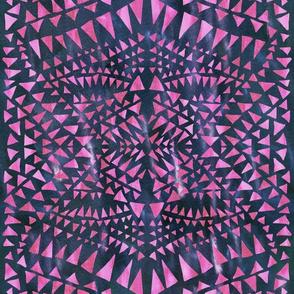 triangle tribal berry
