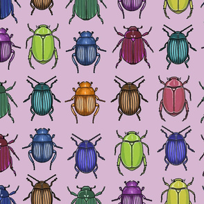 jewel tone beetles