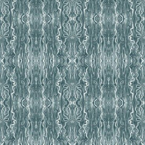 BFM20 - Very Greyed Teal  Butterfly Marble