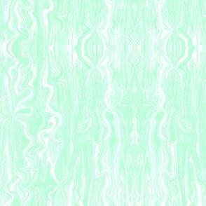BFM18 - Pastel Bluegreen  Butterfly Marble Brocade