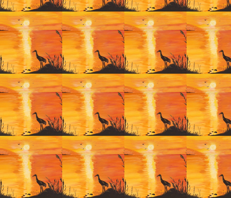 sunset1 fabric by aspen_creations on Spoonflower - custom fabric