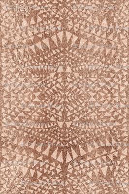 triangle tribal copper
