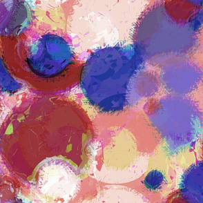 Modern Retro: Summer Scribble Bouncy Balls