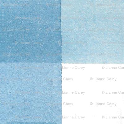 "Blue Gingham - 1.5"""
