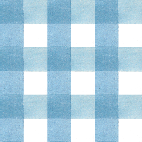 "Blue Gingham - 1.5"" fabric by charlottes_webtique on Spoonflower - custom fabric"