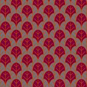 cranberry orange lotus leaf