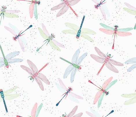 Pretty Dragonflies fabric by legendaryee on Spoonflower - custom fabric