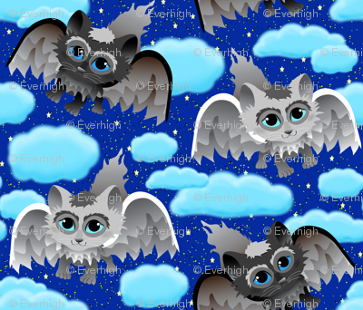 Meowl's in the Clouds