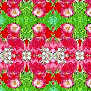 Lush Garden Abstract