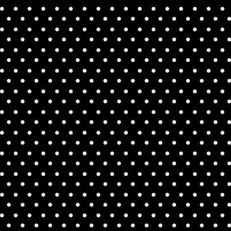 Black And White Polka Dots fabric by sarah_treu on Spoonflower - custom fabric