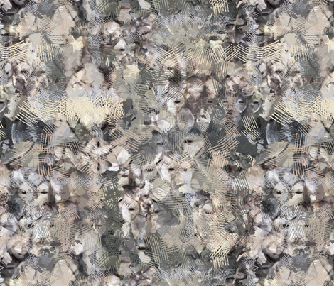 Fish Scales Khaki fabric by tjrobertson on Spoonflower - custom fabric