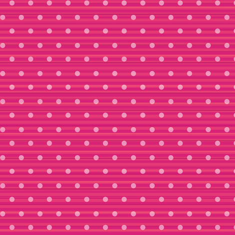 Pink Polka Dots fabric by sarah_treu on Spoonflower - custom fabric