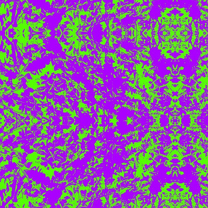 Psychedelic Sour Grass (Green and Purple)