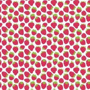 tiny red strawberries