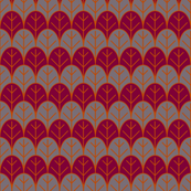 cranberry orange leaves rows
