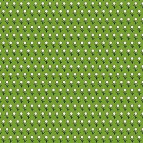 Mini Flower on green