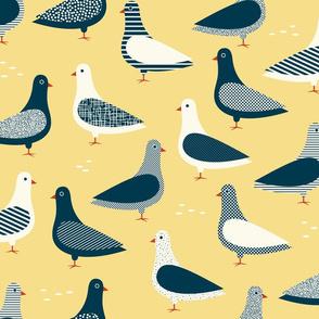 Pigeons - Butter