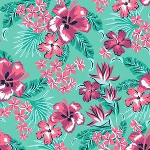 Hibiscus - green