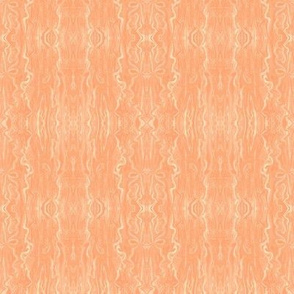 BFM9 - Dreamsicle Butterfly Marble Brocade, Pastel Orange-ed