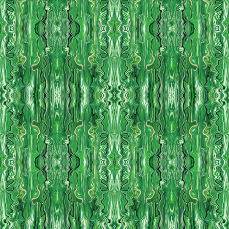 BFM14 -  Spring Green Butterfly Marble Brocade fabric by maryyx on Spoonflower - custom fabric