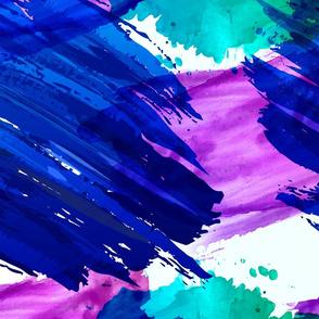 memphis paint splatter