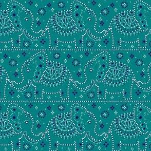 Parading Elephants - Jade