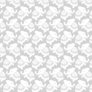 Della White Elephants - Gray