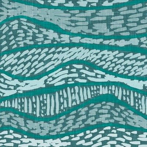 Layer upon layer, geology reflected by Su_G in teal + pale bllue