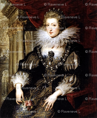 Queen Elizabeth 1 inspired princesses Queens renaissance tudor big lace ruff collar baroque pearls black gold gown beauty castles palaces throne elizabethan era 16th century 17th century historical embroidery ornate royal portraits beautiful woman lady ne