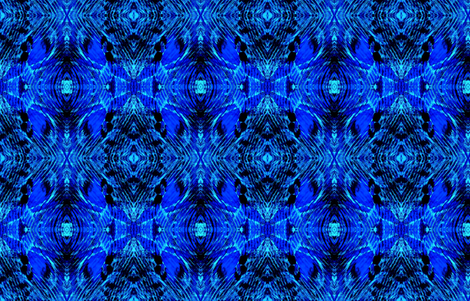 Blue Note print crop fabric by cloudsong_art on Spoonflower - custom fabric